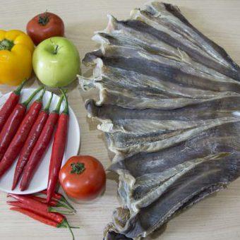 Cá đuối đen chìa dao