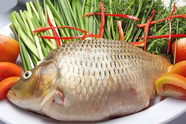 Cá chép hấp sả