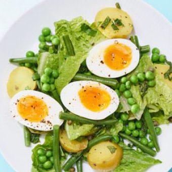 Cách làm salad trứng gà