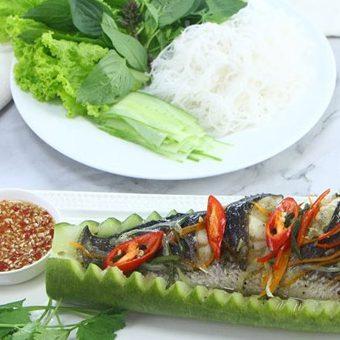 Cá lóc hấp bầu ngon bổ dưỡng
