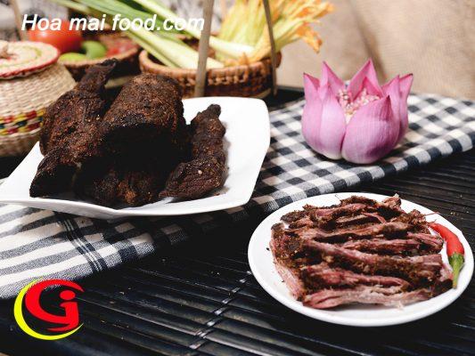 Đặc điểm thịt trâu gác bếp Tây Bắc