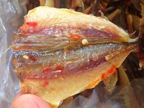 sản phẩm cá chỉ vàng khô xuất khẩu